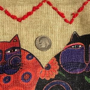Bags - ⬇️$22 Laurel Burch Cloth Tote Bag ~ Cats. Nice!